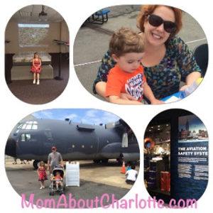 Carolinas Aviation Museum Collage