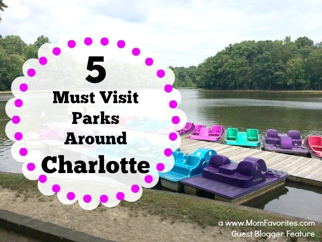 5 Must Visit Parks in Charlotte NC, www.MomFavorites.com