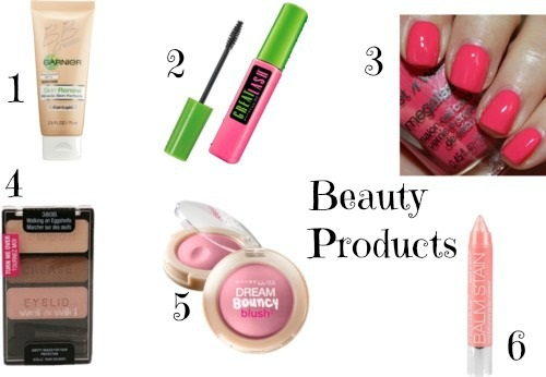 Beauty Products:  Work at Home Mom Style, www.MomFavorites.com