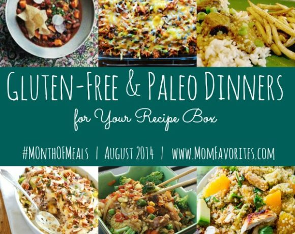 Month of Meals Recipe Box – August 2014