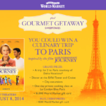 Gourmet Getaway with World Market
