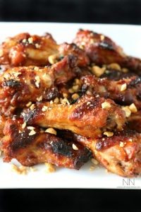 PB&J chicken wings
