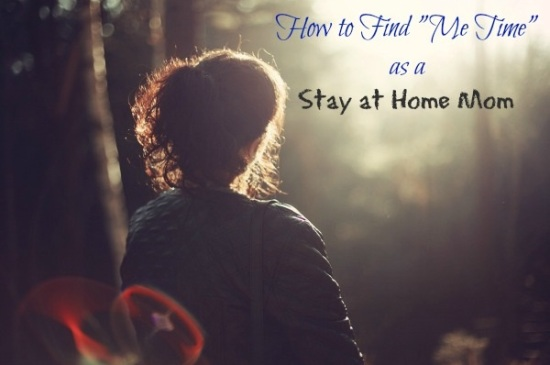 Finding Me-Time as a Stay at Home Mom, www.MomFavorites.com