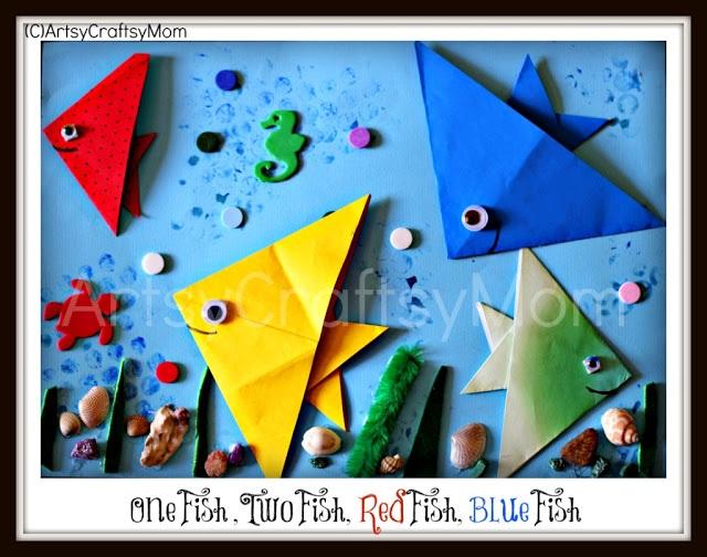 DIY Origami Fish, www.MomFavorites.com