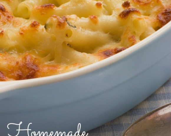 Homemade Mac 'n Cheese: Yes Please!