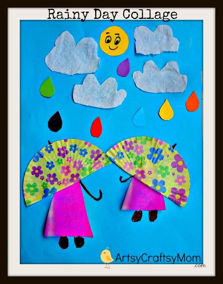 Crafty Rainy Day Collage #DIY, www.MomFavorites.com