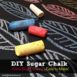 DIY Sugar Chalk Recipe from Mom Favorites Series