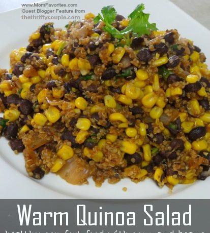 Warm Quinoa Salad – Power Lunch or Fantastic Side