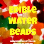 Edible Water Beads, www.MomFavorites.com