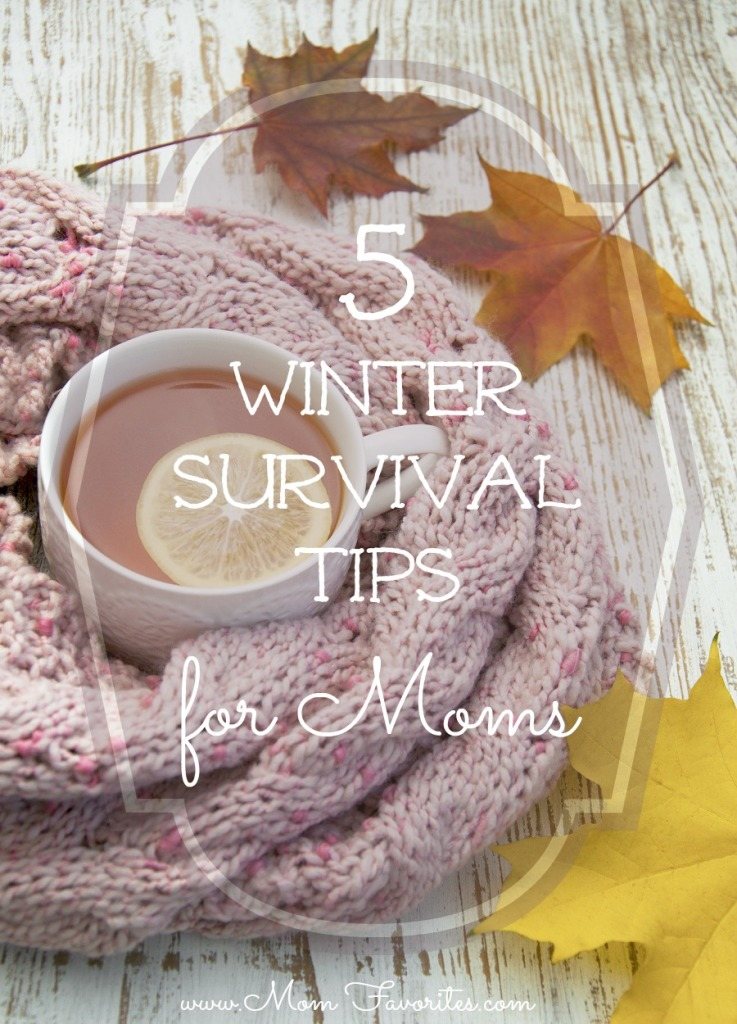 5 Winter Survival Tips for Moms.  Don't miss #3