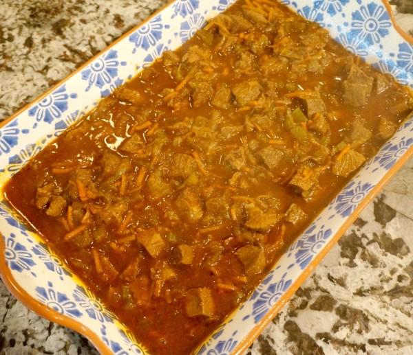 dish before rice