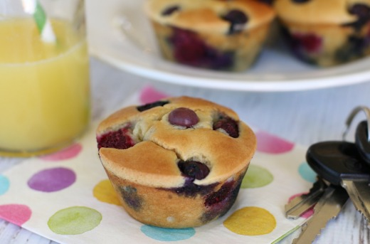 Grab 'n Go Pancake Muffins, from the Month of Meals Menu collection