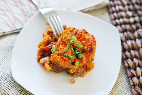 Curried Sweet Potato Shepherd's Pie, from the Month of Meals Menu collection