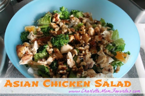 Asian Chicken Salad from the Month of Meals Menu collection