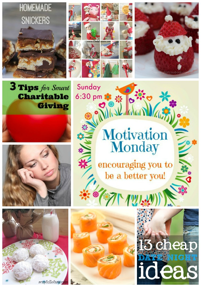 Motivation Monday Linky Party #121