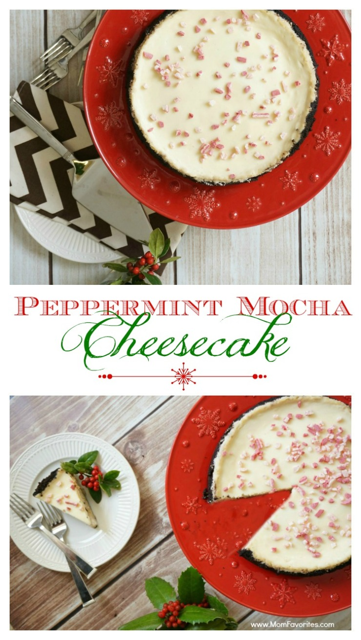 Peppermint Mocha Cheesecake: Easy Holiday Recipes for Dessert