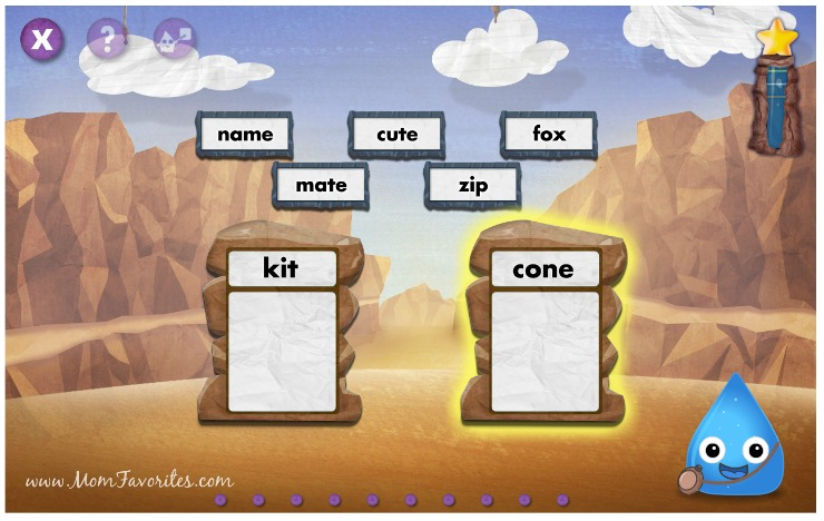Best online tools and apps for online learning: great for language and math skills.  Perfect for preschool and kindergarten.