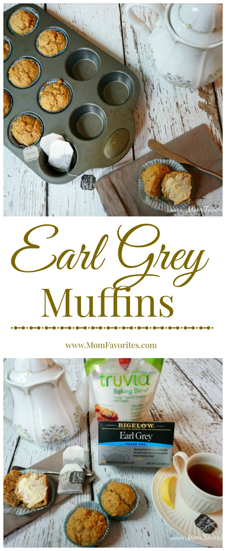 Hitting your afternoon slump? Try this recipe for Earl Grey Muffins. Made even lighter with Truvia Baking Blend!