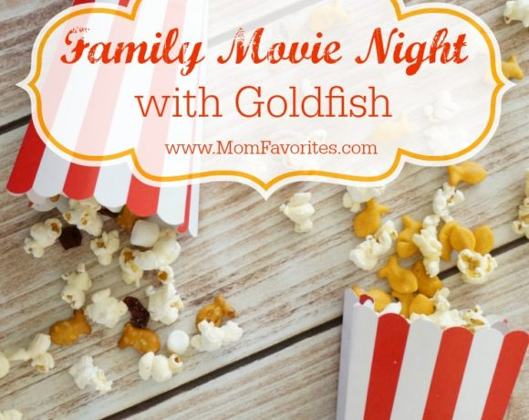 Two Recipes for Goldfish Crackers Popcorn Mix: Family Movie Night Gets Tasty!