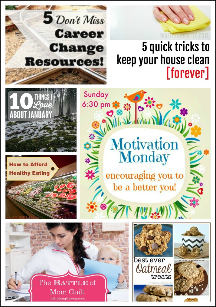 Motivation Monday Linky Party #127