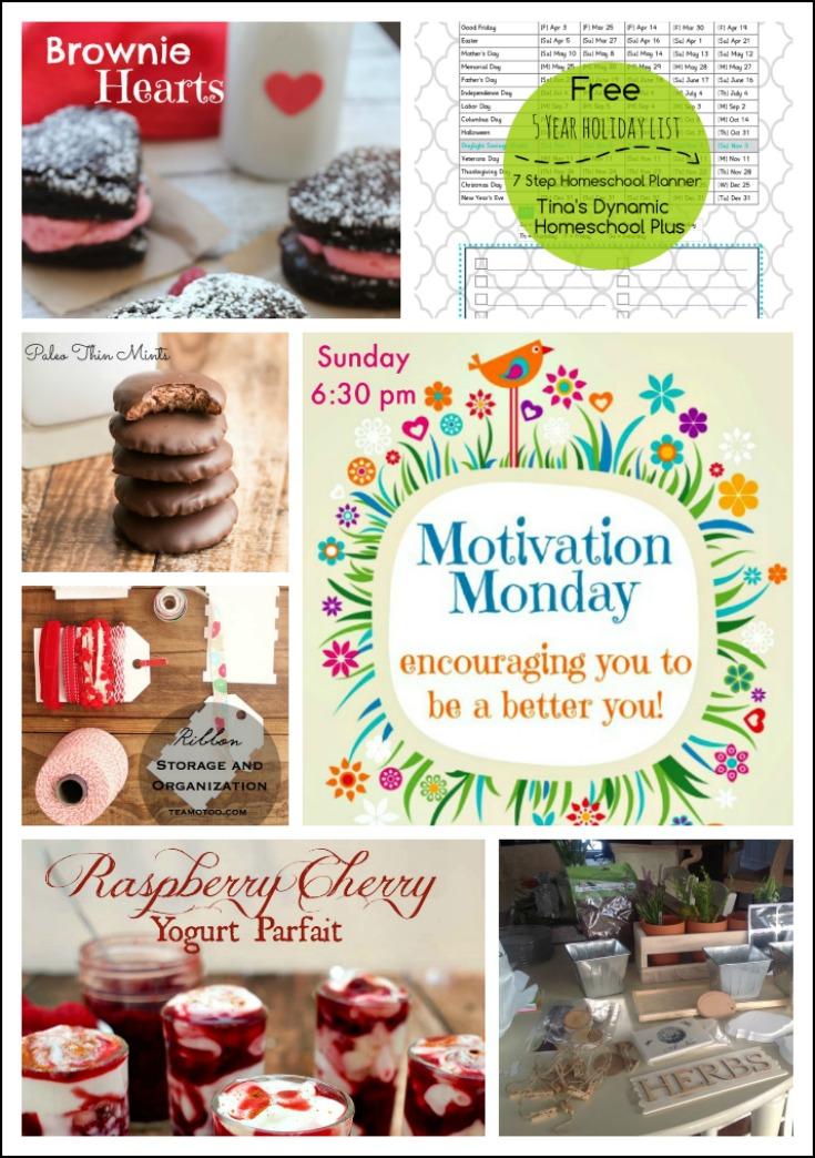 Motivation Monday Linky Party #130