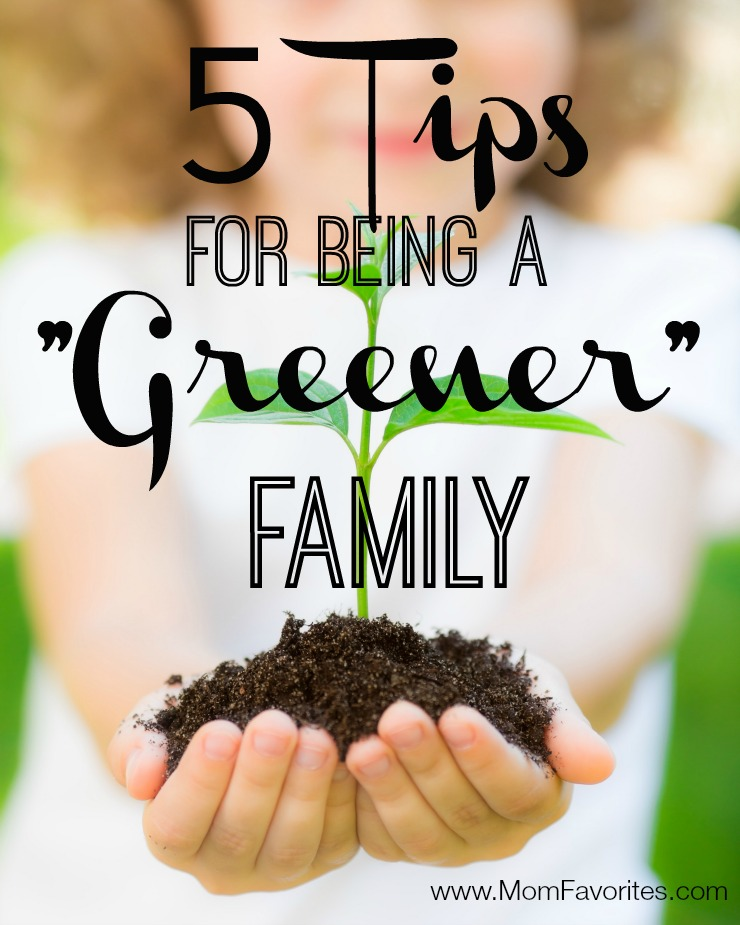 5 Green Tips for Families: the free printable is awesome, but so is each tip!  Don't miss out on these green tips for families!