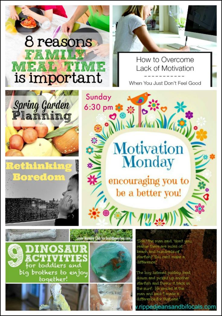 Motivation Monday Linky Party #132