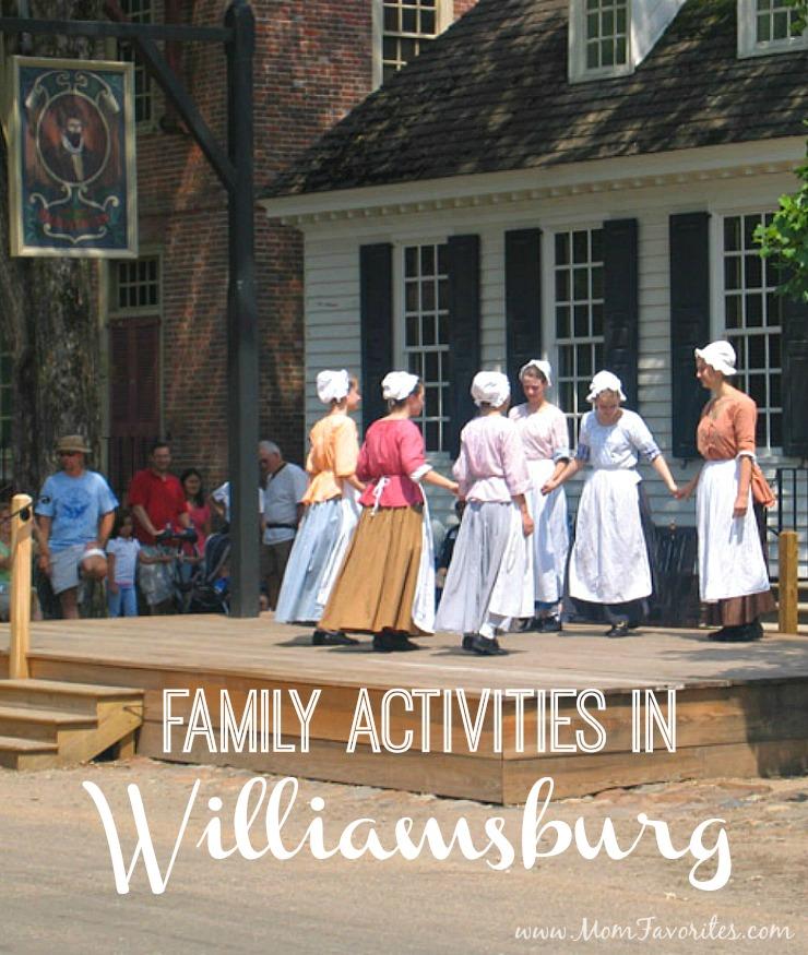 Family Activities: Family Activities In Williamsburg, Virginia