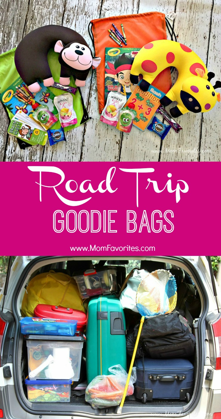 """Road Trip Travel Bags for Kids.  Plus a tip to end """"Are we there yet"""" for good!"""