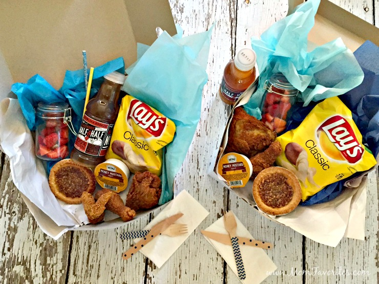 The perfect Southern Picnic Boxes - Easy, Beautiful and Tasty!  DIY your way to picnic perfection this summer!