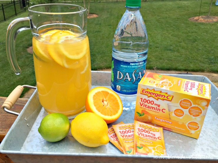which has more electrolytes orange juice and sports drinks