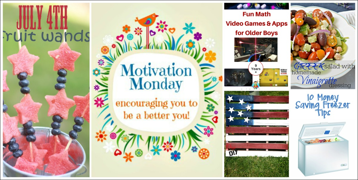Motivation Monday Linky Party 149