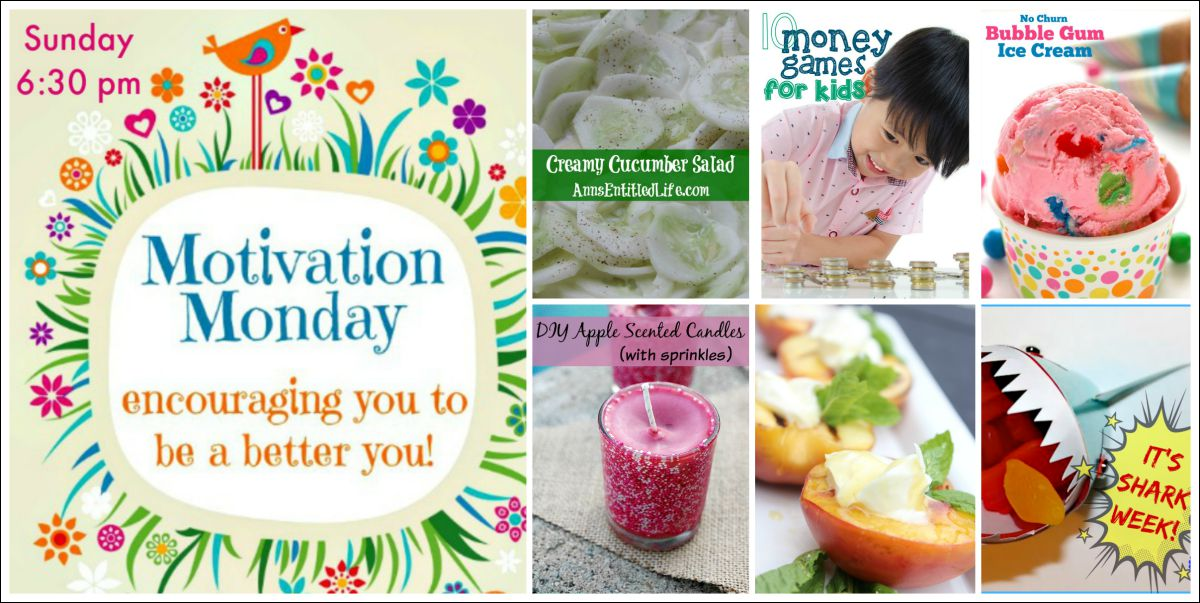 Motivation Monday Linky Party 151