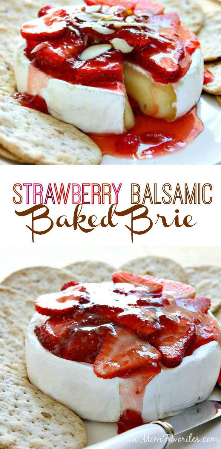 Girl's Night! Celebrate with Middle Sisters Wine and this fabulous Strawberry Baked Brie Recipe.  A perfect wine pairing recipe for summer entertaining.