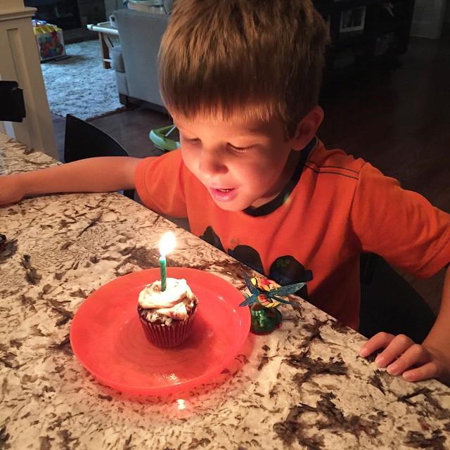 Dear Graham: On your 7th birthday