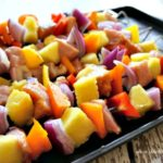 Pork & Pineapple Fajita Kabobs