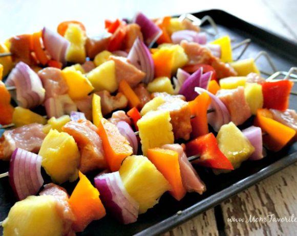 Pork & Pineapple Fajita Kabobs