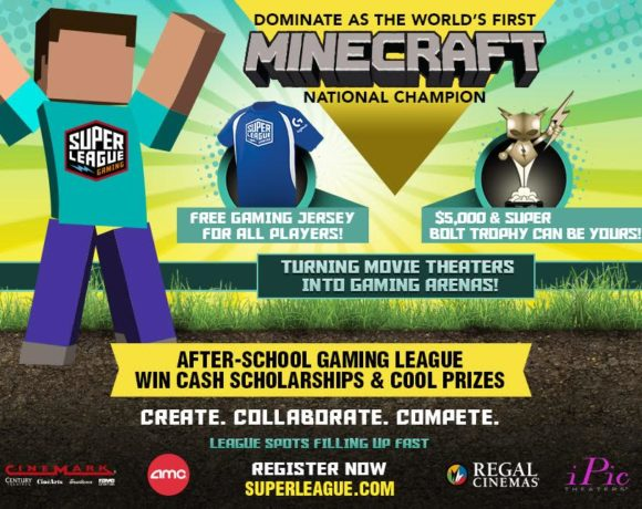 Minecraft  Super League Gaming in Charlotte + Giveaway