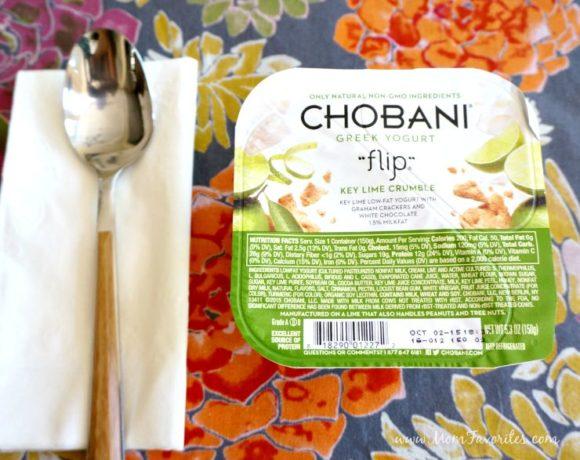 A Favorite Me Treat: Chobani Greek Yogurt Flips