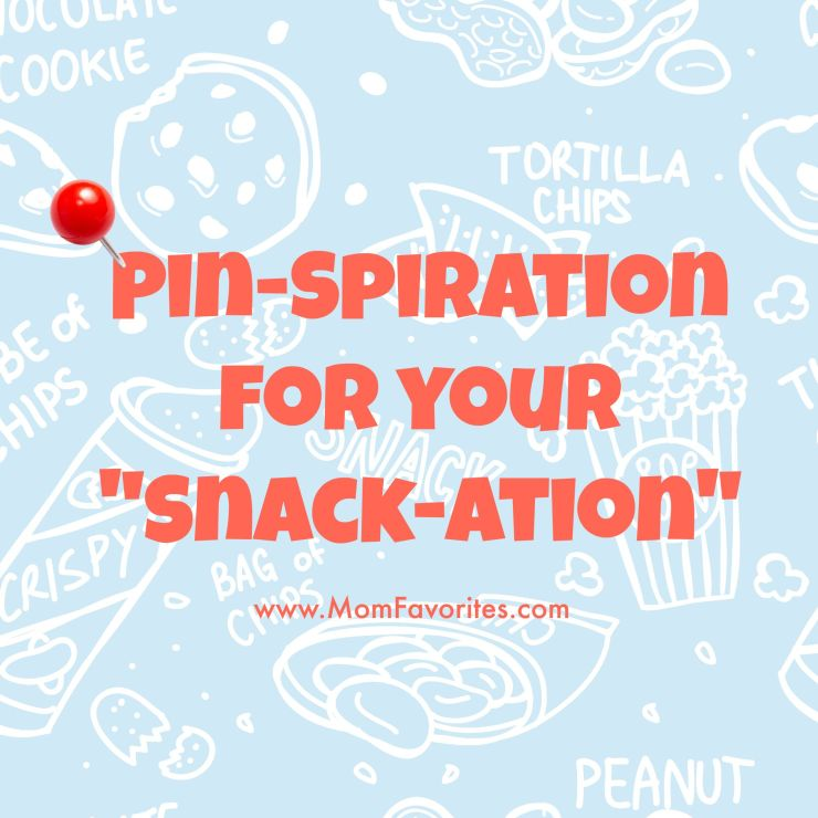 "on't let your hungry monsters (kids) take you down! Load up on Pinspiration for your very own ""snackation! with some amazing snack recipes."