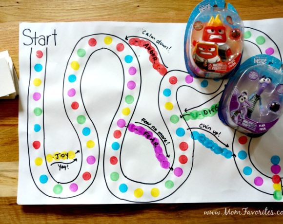 DIY Inside Out Board Game