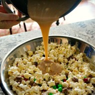 Elf Popcorn Recipe & Movie Night