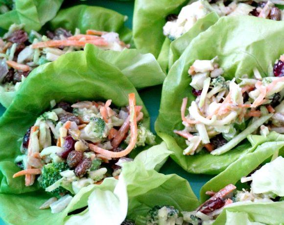 Broccoli Salad Tacos Recipe: a Potluck Favorite