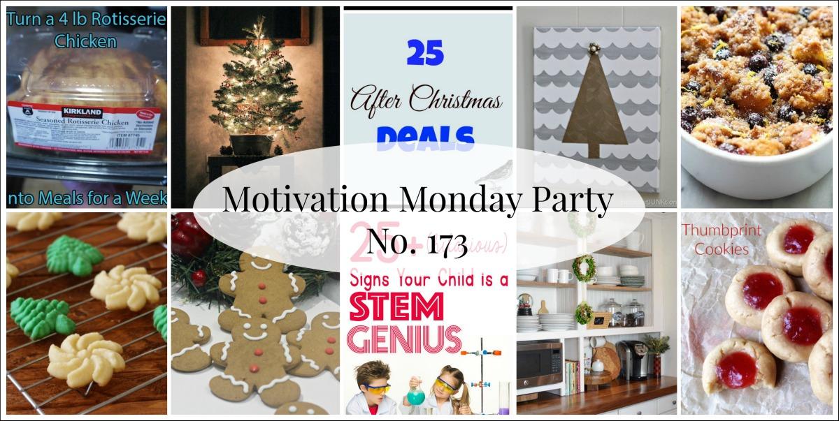 Motivation Monday Linky Party no. 173