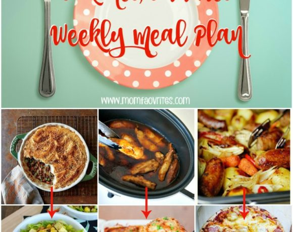 Weekly Meal Plan Featuring Cook Once Eat Twice Menus