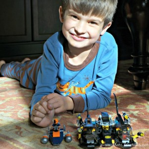 Have a little sibling rivalry when it comes to play? Check out these fun age-appropriate LEGO Super Hero sets and my son's first vlog review! #proudmomma