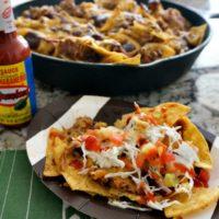 El Yucateco Spicy Pulled Pork Nachos