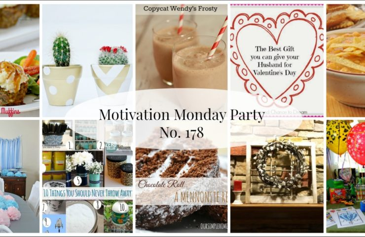 Motivation Monday Linky Party 178