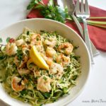 Zucchini Noodles Shrimp Scampi Recipe