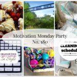 Motivation Monday Linky Party 180